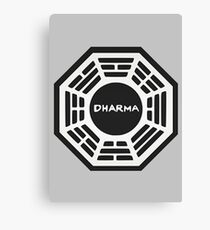 LOST: Dharma Logo Canvas Print