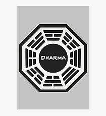 LOST: Dharma Logo Photographic Print