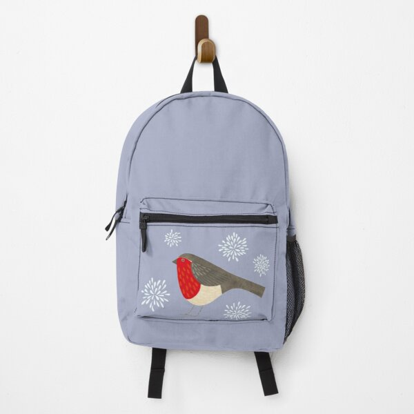 Robin and Snowflakes Backpack