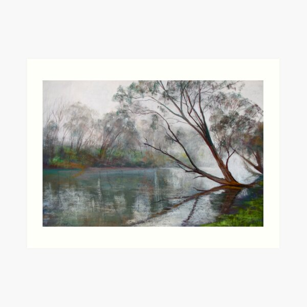 Winter on the Goulburn Art Print