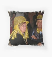 Cup day dress up winners Throw Pillow