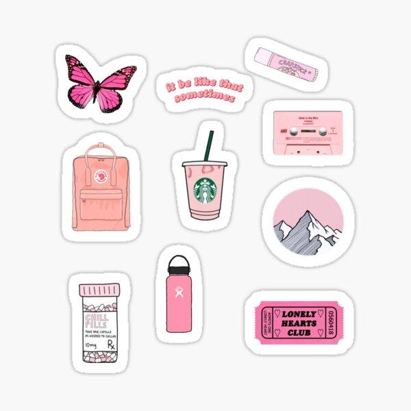 Pink Sticker Set Sticker