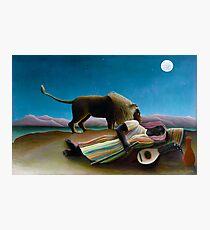 Henri Rousseau - The Sleeping Gypsy Photographic Print