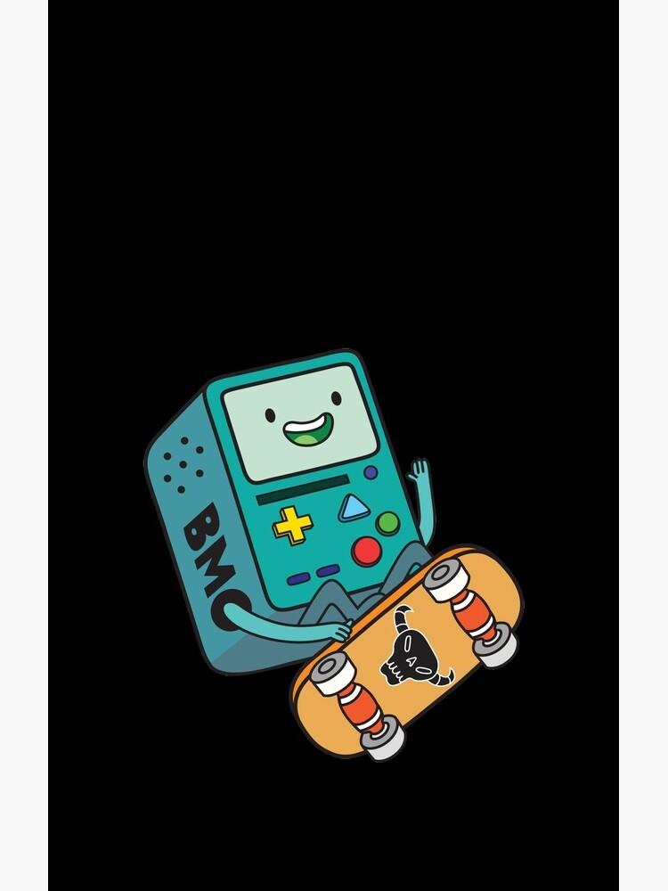BMO Skateboard by plushism
