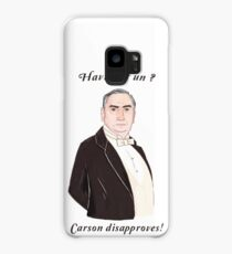 Carson Disapproves!  Case/Skin for Samsung Galaxy