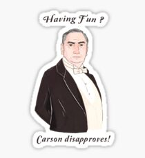 Carson Disapproves!  Sticker