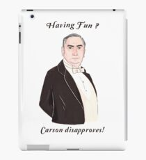 Carson Disapproves!  iPad Case/Skin