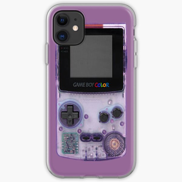 Gameboy Purple iPhone Soft Case