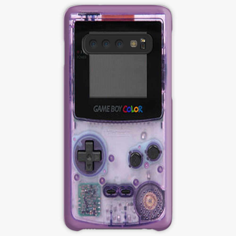 Gameboy Purple Case & Skin for Samsung Galaxy