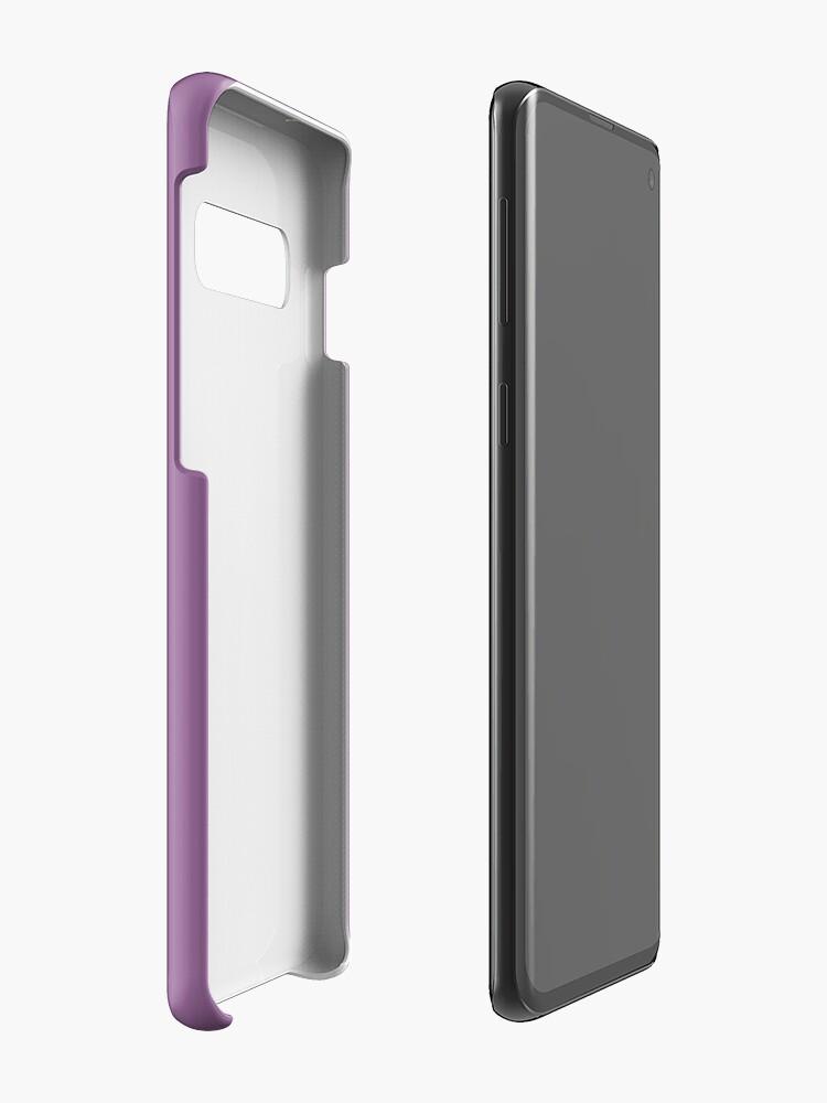 Alternate view of Gameboy Purple Case & Skin for Samsung Galaxy