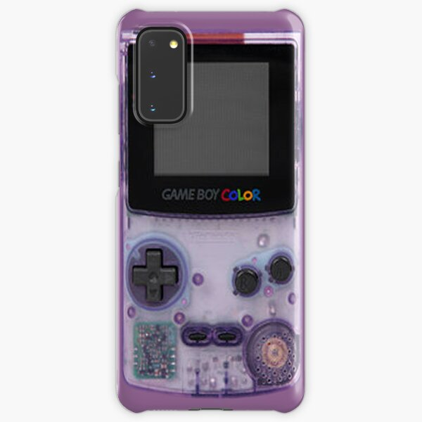 Gameboy Purple Samsung Galaxy Snap Case