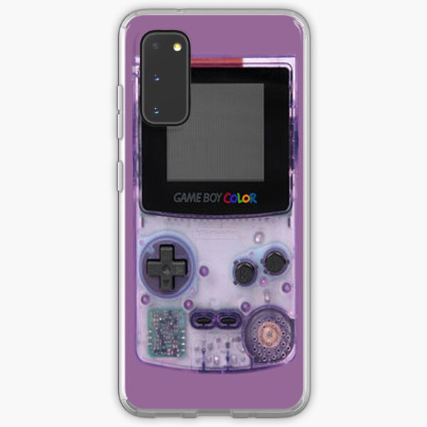 Gameboy Purple Samsung Galaxy Soft Case