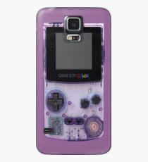 Gameboy Purple Hülle & Klebefolie für Samsung Galaxy