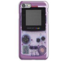 Gameboy Purple iPhone Case/Skin