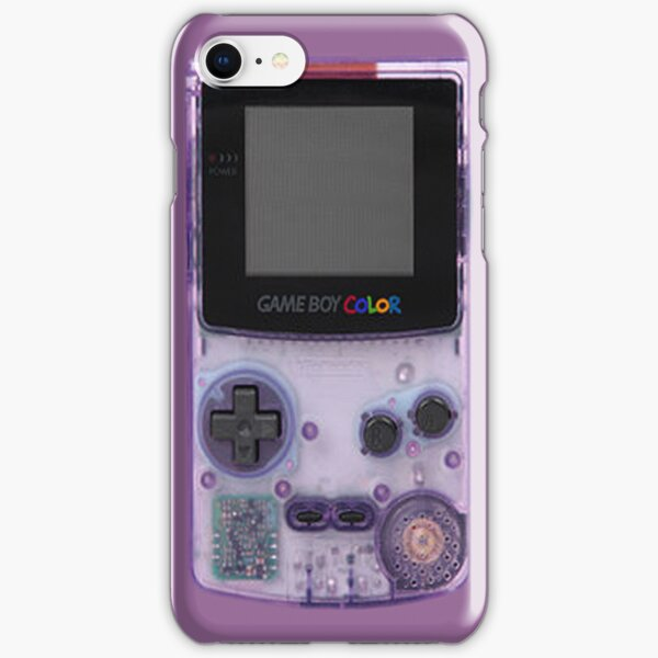 Gameboy Purple iPhone Snap Case