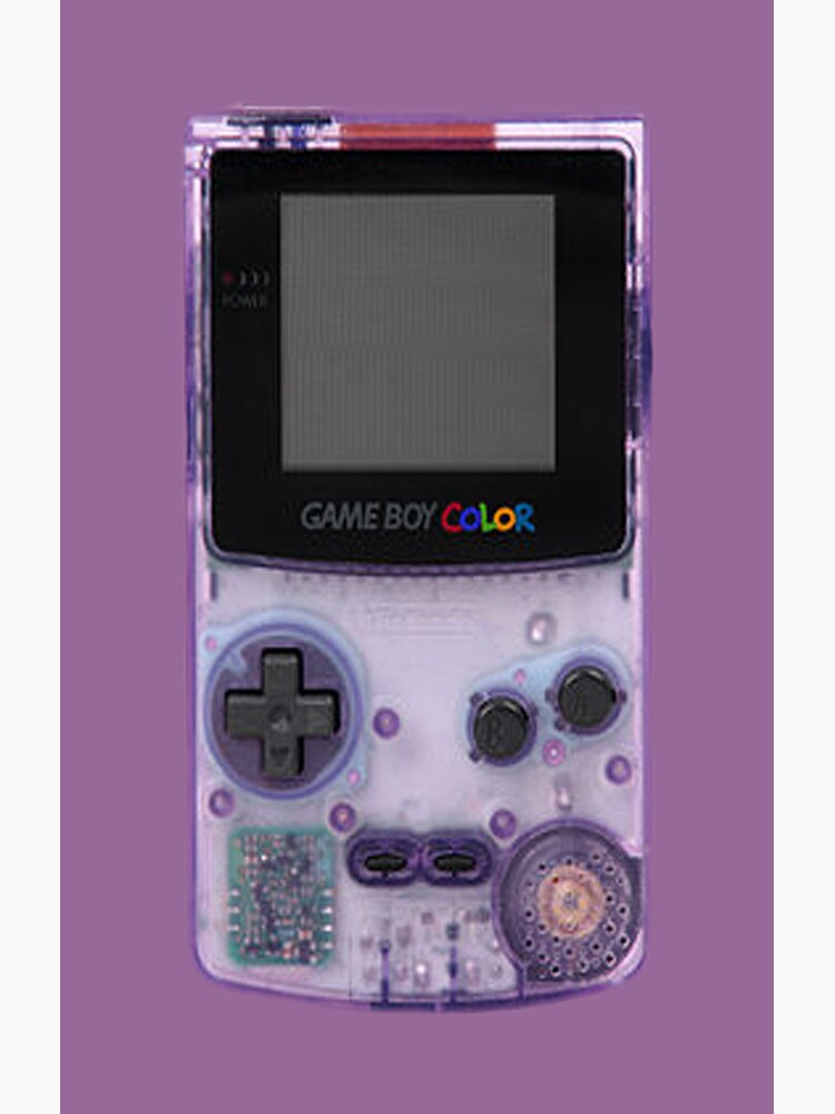 Gameboy Purple by ohmyglob
