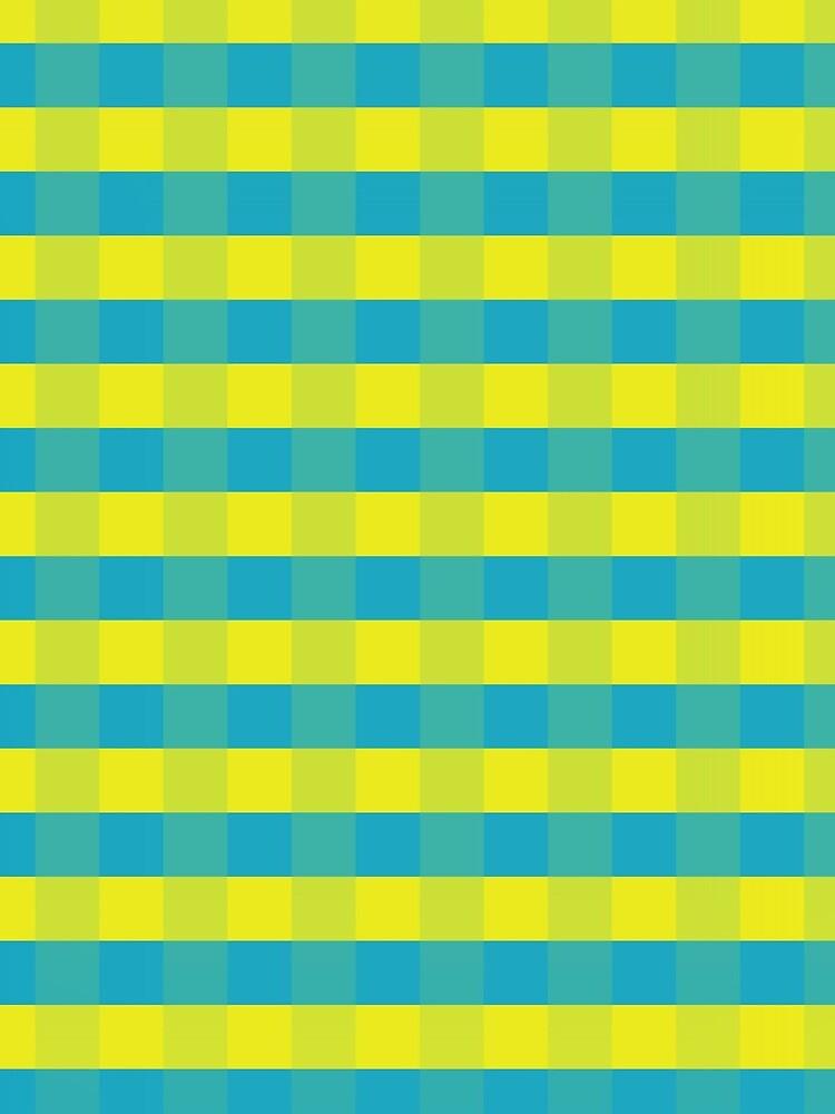 Yellow-blue squares by m-rzeszotarska