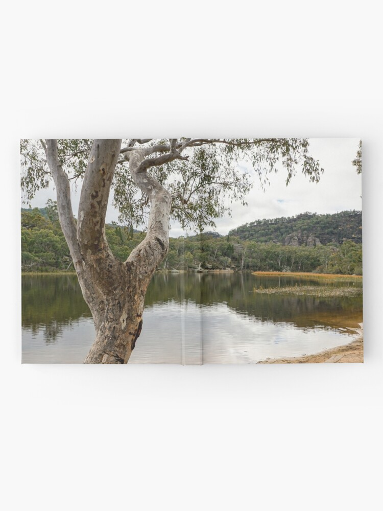 Alternate view of Dunns Swamp, Cudgegong River, Wollemi National Park, NSW Hardcover Journal