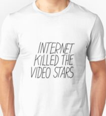 Justice DANCE Internet Kill The Video Star Unisex T-Shirt