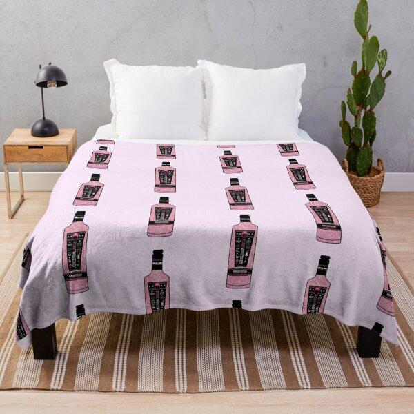 Pink Whitney Glitter Throw Blanket