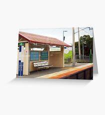 Simon Says - Bully Train Platform Greeting Card