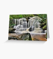 Somersby Falls - Lower Greeting Card