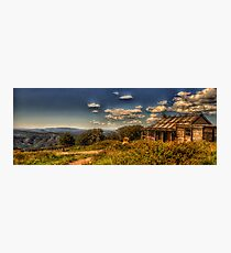 Snowy Mountain High - Craig's Hut - The HDR Experience Photographic Print