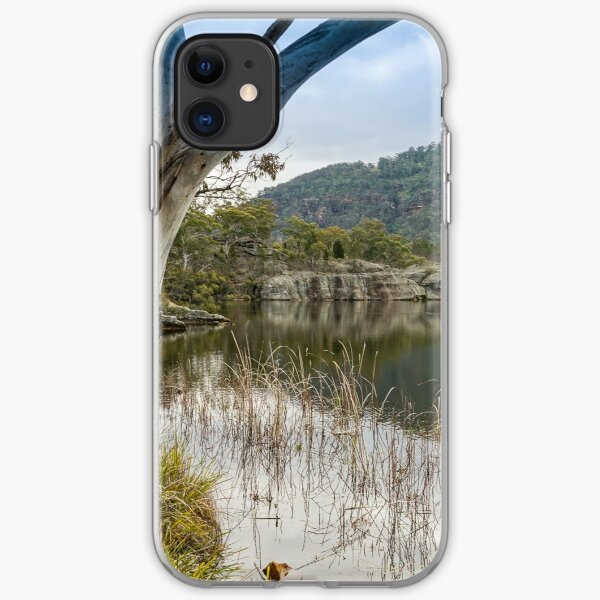 Dunns Swamp, Cudgegong River, Wollemi National Park, NSW iPhone Soft Case