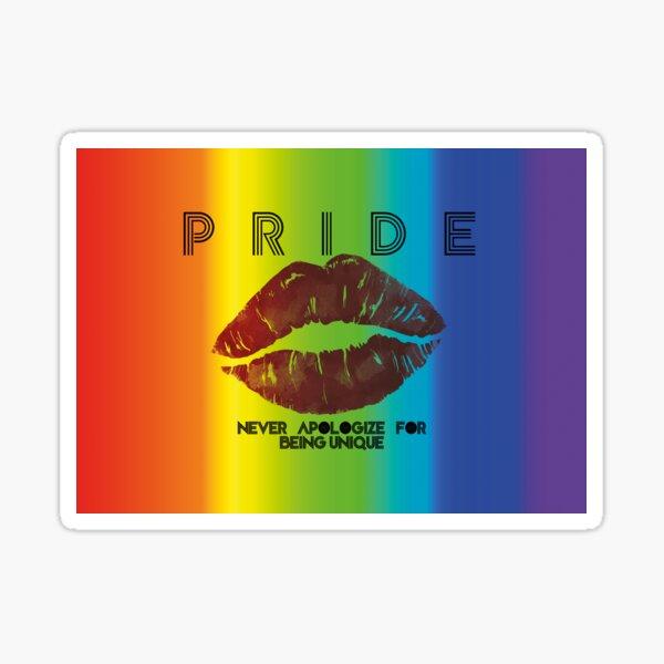 Pride - Aqua Libra Sticker