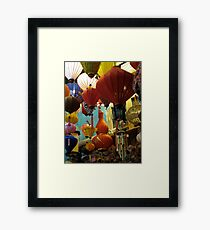Hoi Ann Lanterns Framed Print