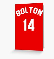 High School Musical: Bolton Jersey Greeting Card