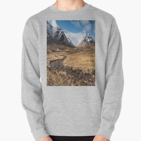 Glencoe Mountains Bidean Nam Bian Pullover Sweatshirt