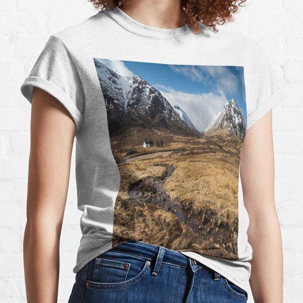 Glencoe Mountains Bidean Nam Bian Classic T-Shirt