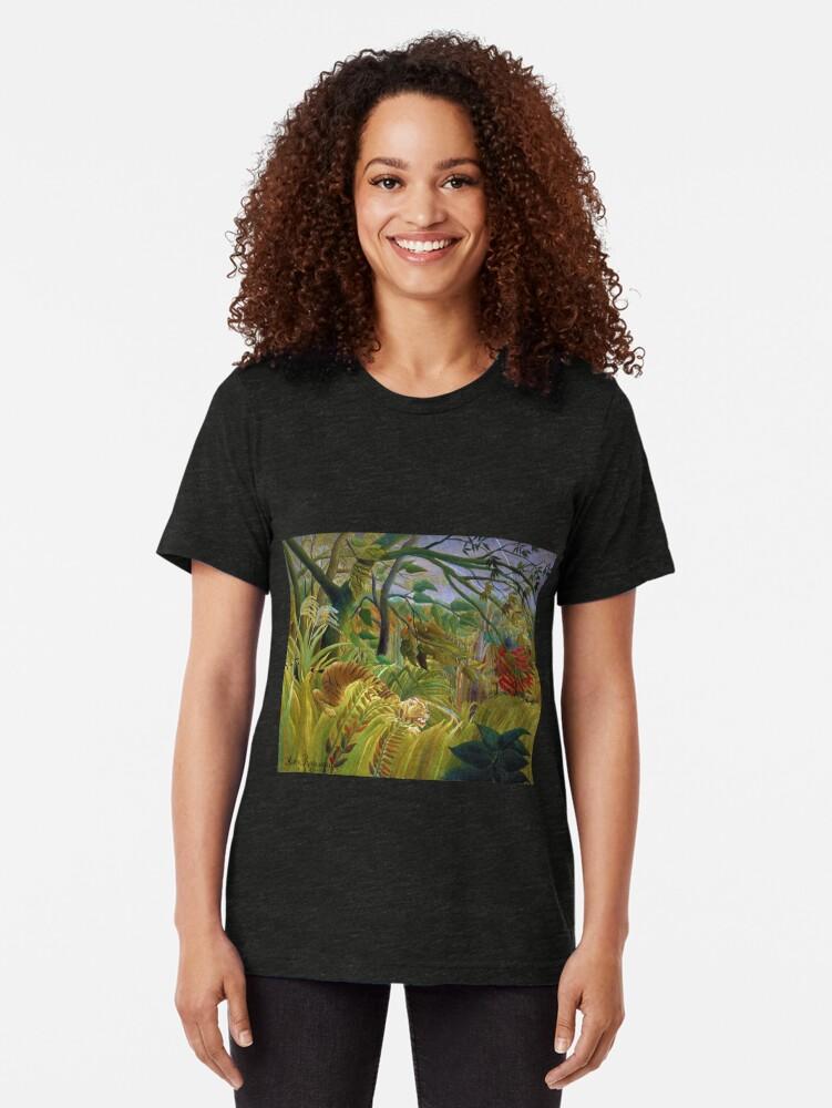 Alternative Ansicht von Henri Rousseau - überrascht Vintage T-Shirt