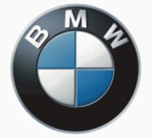 Bmw small logo upper left side | Unisex T-Shirt