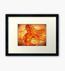 Elemental Mysteries 1 - Born of Fire Framed Print