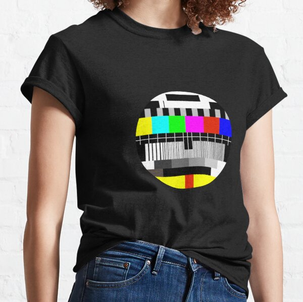 TV test card test pattern Classic T-Shirt