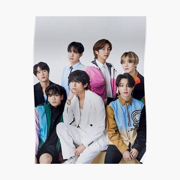 Housse Japon BTS VOGUE Poster