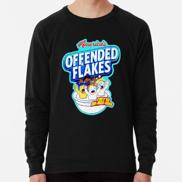 Makan Pagi Pakai Sereal offended flakes offended flakes offended flakes  Lightweight Sweatshirt