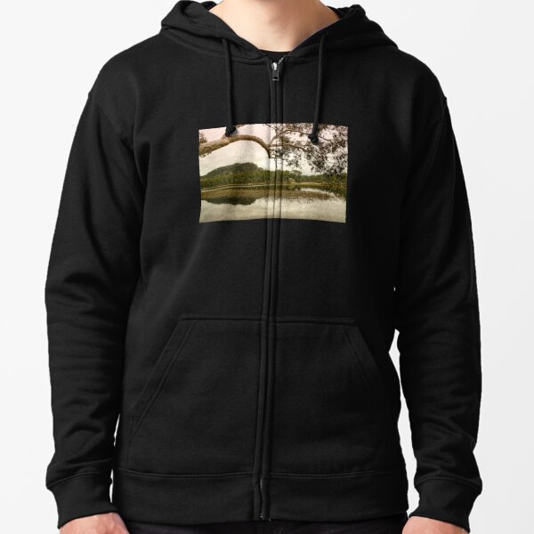 Dunns Swamp, Cudgegong River, Wollemi National Park, NSW Zipped Hoodie