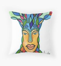 Blissful Tree Throw Pillow