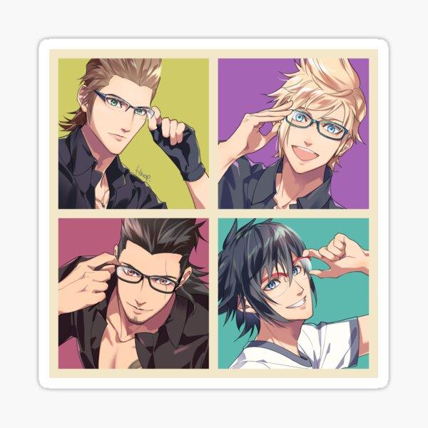 Glasses! Sticker