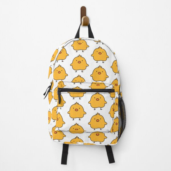 Adorable Simple Yellow Chick Backpack