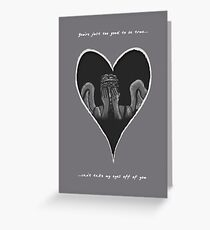 Can't Take My Eyes Off Of You Greeting Card