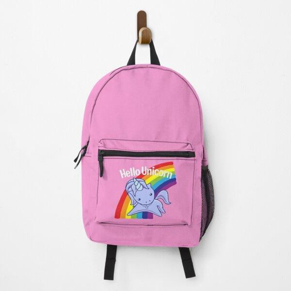 Hello Unicorn Backpack