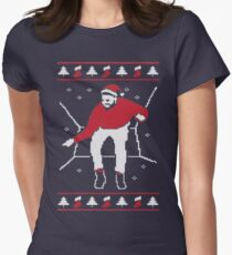 Christmas Hotline Bling Womens Fitted T-Shirt