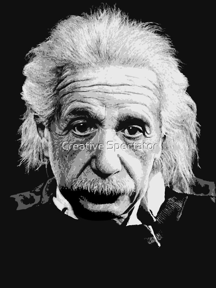 Albert Einstein E=mc Illustration | Unisex T-Shirt