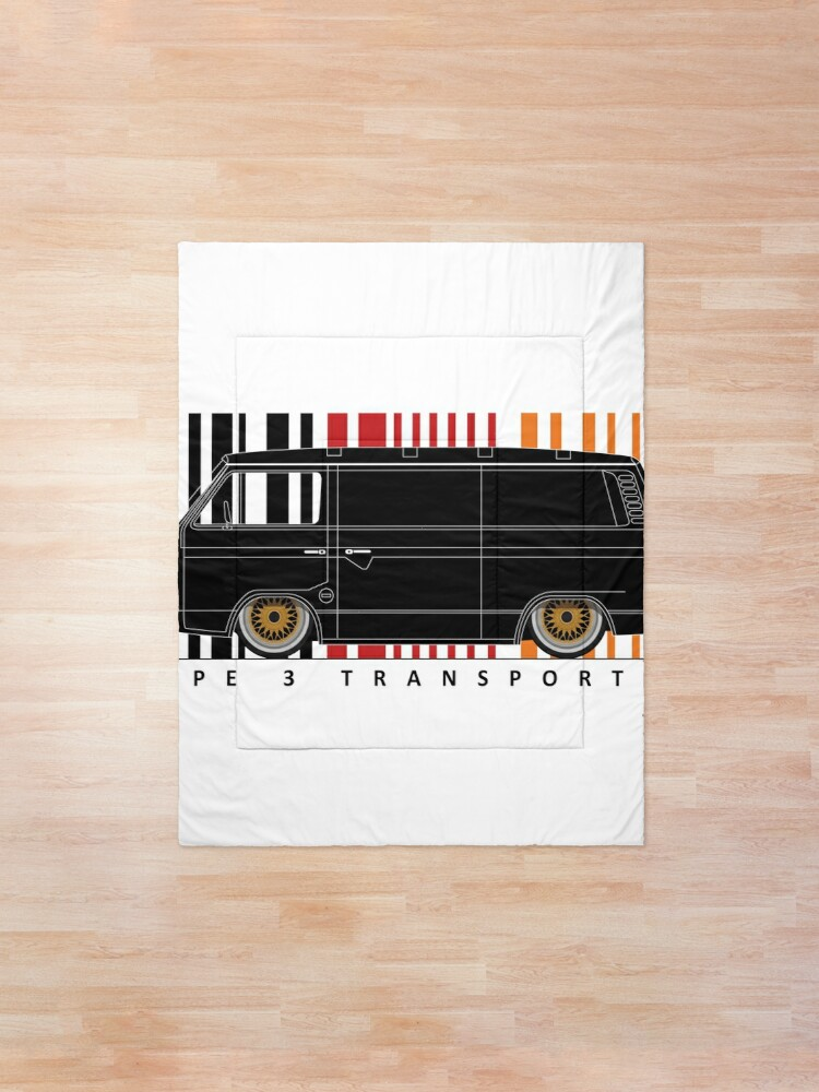Alternate view of Aircooled type 3 TRANSPORTER Comforter