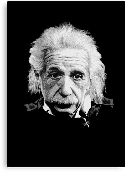 Albert Einstein E=mc² Illustration by Creative Spectator