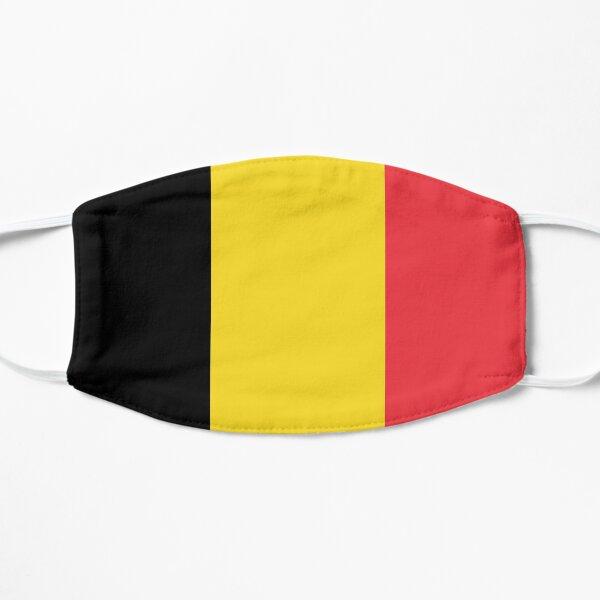 Conception du drapeau belge Masque sans plis